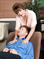 60 Plus MILFs - Bea's anal therapy - Bea Cummins (64 Photos)