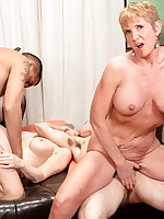 50 Plus MILFs - Honey Ray And Robin: Here They Cum Again! - Honey Ray and Robin Pachino (75 Photos)